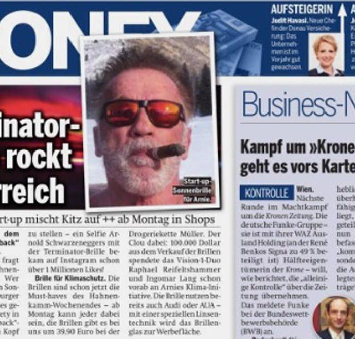 Terminator-Brille rockt Österreich
