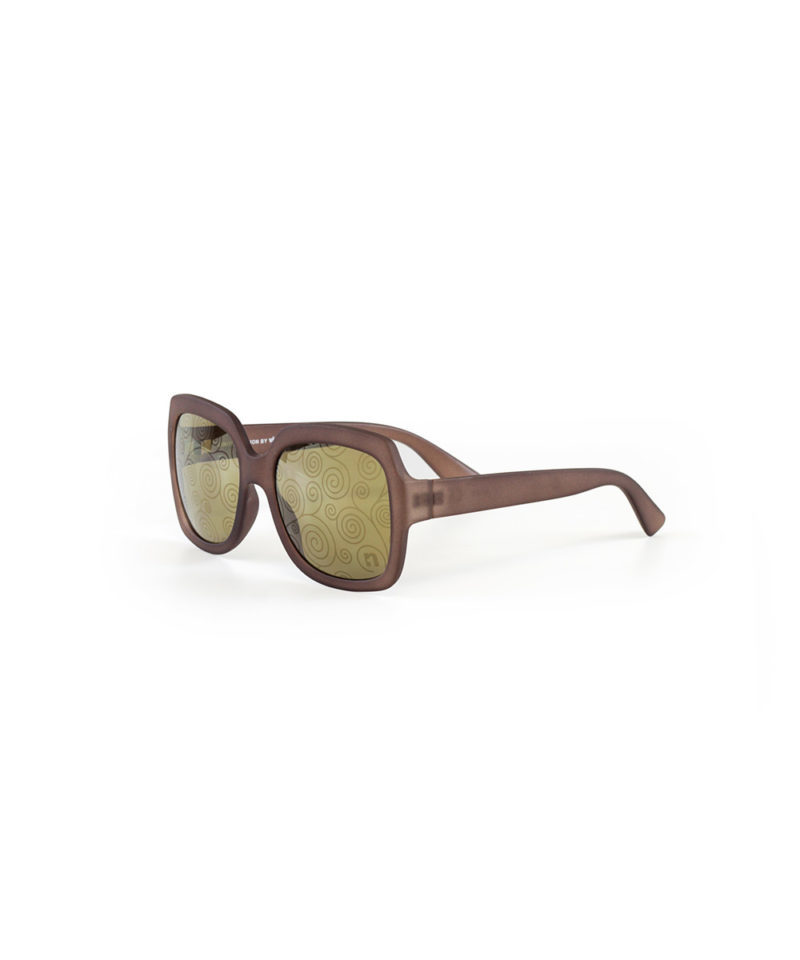 Lady In Gold Sunglasses I Pattern Edition