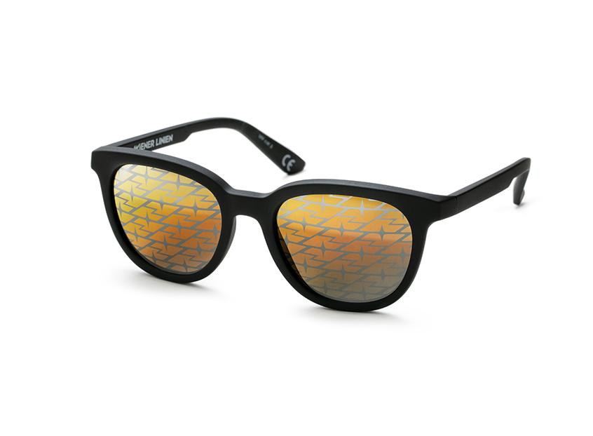 Vision1 Eyewear Wiener Linien Logo Sunglasses - Vienna's hottest item! Magazine logo sunglasses