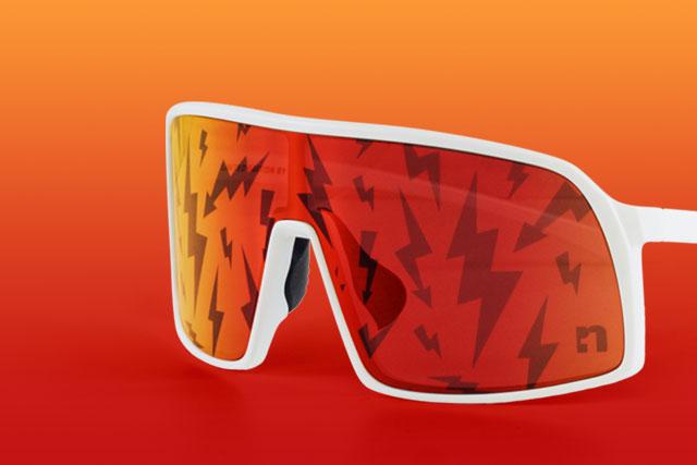 Big Flash Sunglasses I Pattern Edition