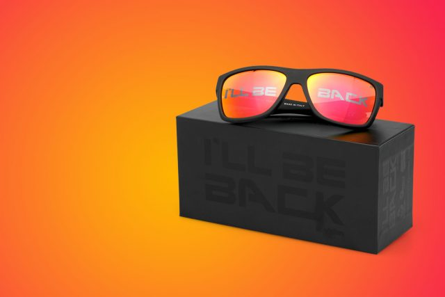 """I'll be back"" Limited Edition Sunglasses"
