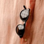 Houndstooth sunglasses detail