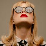 Hahnentritt Houndstooth Sunglasses Portrait