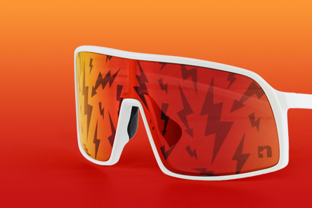Big Flash Sunglasses I Pattern Edition